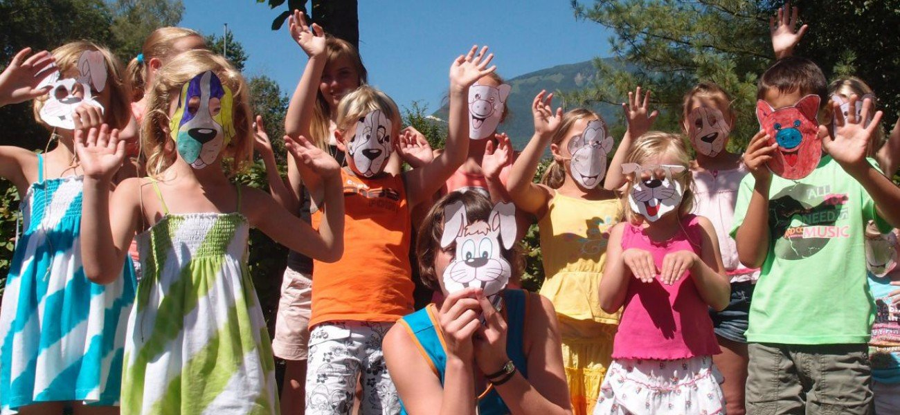 Kamperen in Savoie - Mini-Club-maskers