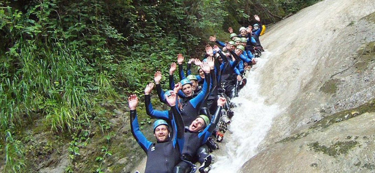 Activiteiten op Camping du Lac de Carouge - Canyoning in Savoie